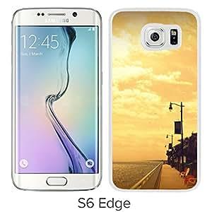 Broad Walk (2) Hard Plastic Samsung Galaxy S6 Edge G9250 Protective Phone Case