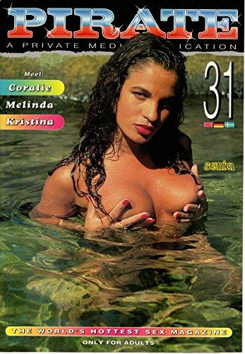 VINTAGE PIRATE XXX ALL COLOR #31 CORALIE MELINDA - Vintage Mag Color