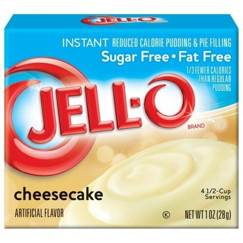 Jell-O Instant Sugar Free-Fat Free Cheesecake Pudding Pie Filling 1 oz TRG ()
