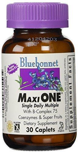 Bluebonnet Maxi One Iron Caplets, 30 Count by BlueBonnet