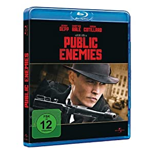 51uLLZ8qVbL. AA300  Public Enemies (mit Wendecover) [Blu ray] für 4,98€ incl. Versand