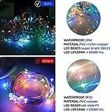 String Lights Curtain,USB Powered Fairy Lights