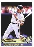 Baseball MLB 2018 Donruss #241 George Brett #241 Retro 1984 NM Near Mint Royals