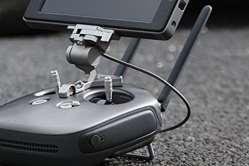 DJI Genuine CrystalSky Remote Controller Mounting Bracket for Inspire/Phantom 3 Professional/Advance /Phantom 4 Matrice Series with 1pc Luckybird USB Reader
