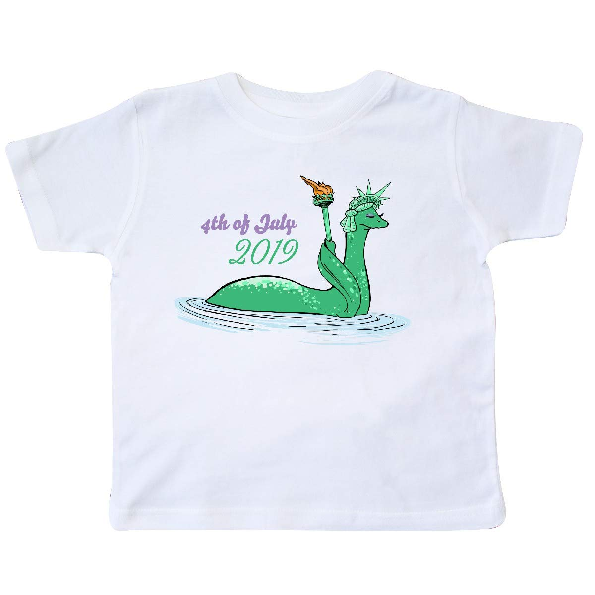 Nessie Lady Liberty 4th Of July 2019 T Shirt 3650a 5759