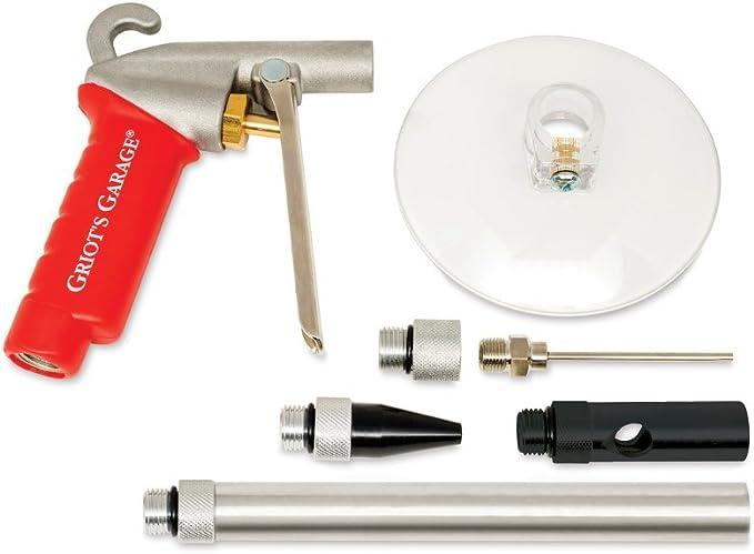 HUSKY High Performance Blow Gun Aluminum Pistol Grip Tool W// Ultimate Flow Tip