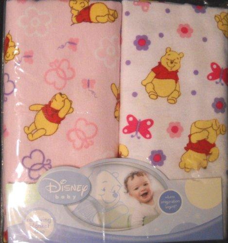 (Disney Baby Winnie the Pooh 2-Pk Receiving Blankets)
