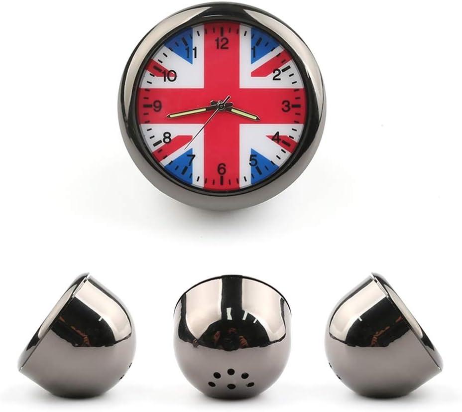 Heinmo Universal Car Dashboard Clock Cars Air Vent Quarz Clocks Mini Perfect Decoration For BMW MINI Cooper S