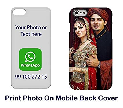 buy online a75f1 d34e7 DesignGuru Plastic Personalized Printed Back Cover For: Amazon.in ...