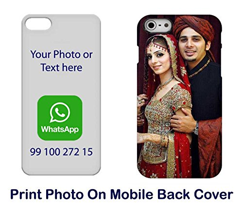buy online d4d5c ca9a1 DesignGuru Plastic Personalized Printed Back Cover For: Amazon.in ...