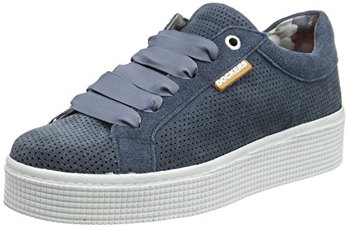 Dockers by Gerli Damen 41ab209-216660 Sneaker Blau (Navy 660)