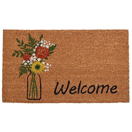 Calloway Mills 103381729 Summer Bouquet Doormat, 17