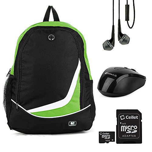 sumaclife-lightweight-compact-nylon-backpack-carrying-case-green-for-toshiba-133-to-156-laptop-with-
