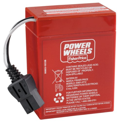 New Fisher Price Power Wheels 6 Volt Rechargeable Battery Fast