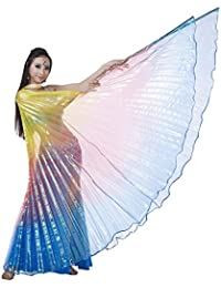 Colorful Belly Dance ISIS Wings(No Sticks)