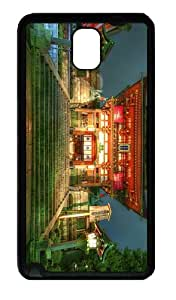 top cases temple asian TPU Black case/cover for samsung galaxy note 3 N9000