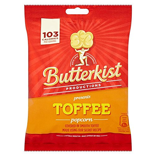 Butterkist Popcorn - Toffee (100g) - Pack of 6