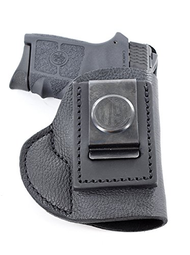 1791 GunLeather 380 Premium Leather IWB CCW Holster - Super Soft & Comfortable Right Handed Leather 380 Holster - Fits Most 380 Pistols S&W Bodyguard, Beretta Pico, Browning, Colt Mustang Lite, Kimber