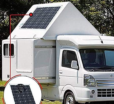 FZLBN 50W 12V Solar Panel Monocristalino Célula Placa Solar ...
