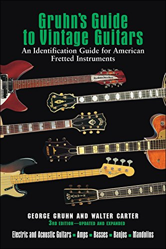 Backbeat Books Gruhn's Guide To Vintage Guitars 3Rd Edition Updated And Expanded (Gruhns Guide)