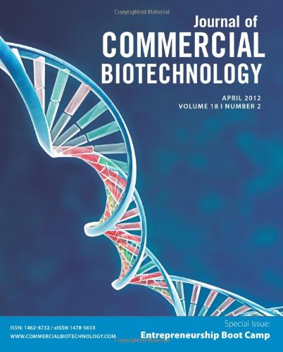 Read Online Biotechnology Entrepreneurship Bootcamp: Journal of Commercial Biotechnology Special Issue PDF