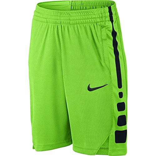 NIKE Boys Elite Vent Basketball Training Short (Medium, Green (Nike Green Training Shorts)