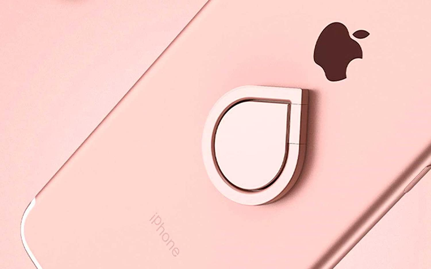 International Wireless Rose Gold 360/°Rotating Metal Finger Ring Stand Holder Stick Mount Bracket For Mobile Cell Phone GPS iPhone Samsung MP3 PDA MP4 PSP
