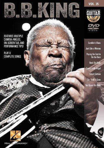 B.B. King - Guitar Play-Along DVD Volume 35 from Hal Leonard
