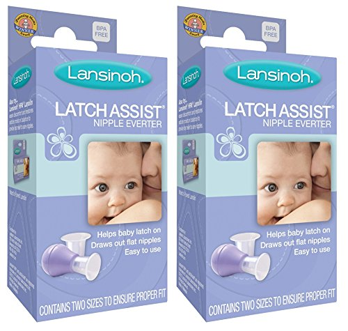 Lansinoh LatchAssist Nipple Everter, 2 Count