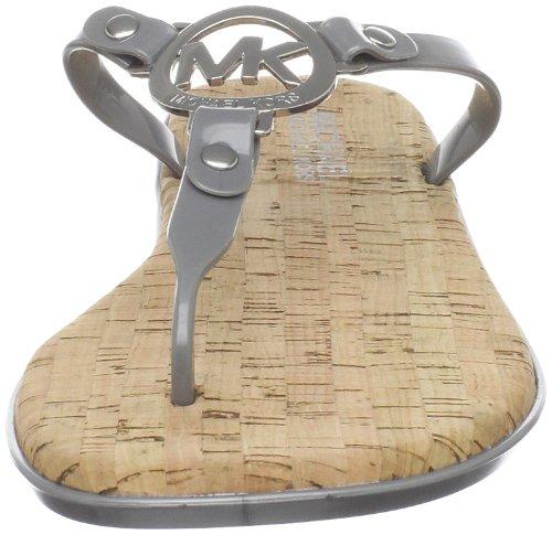 Michael Michael Kors Women's MK Charm Jelly Flat Sandal