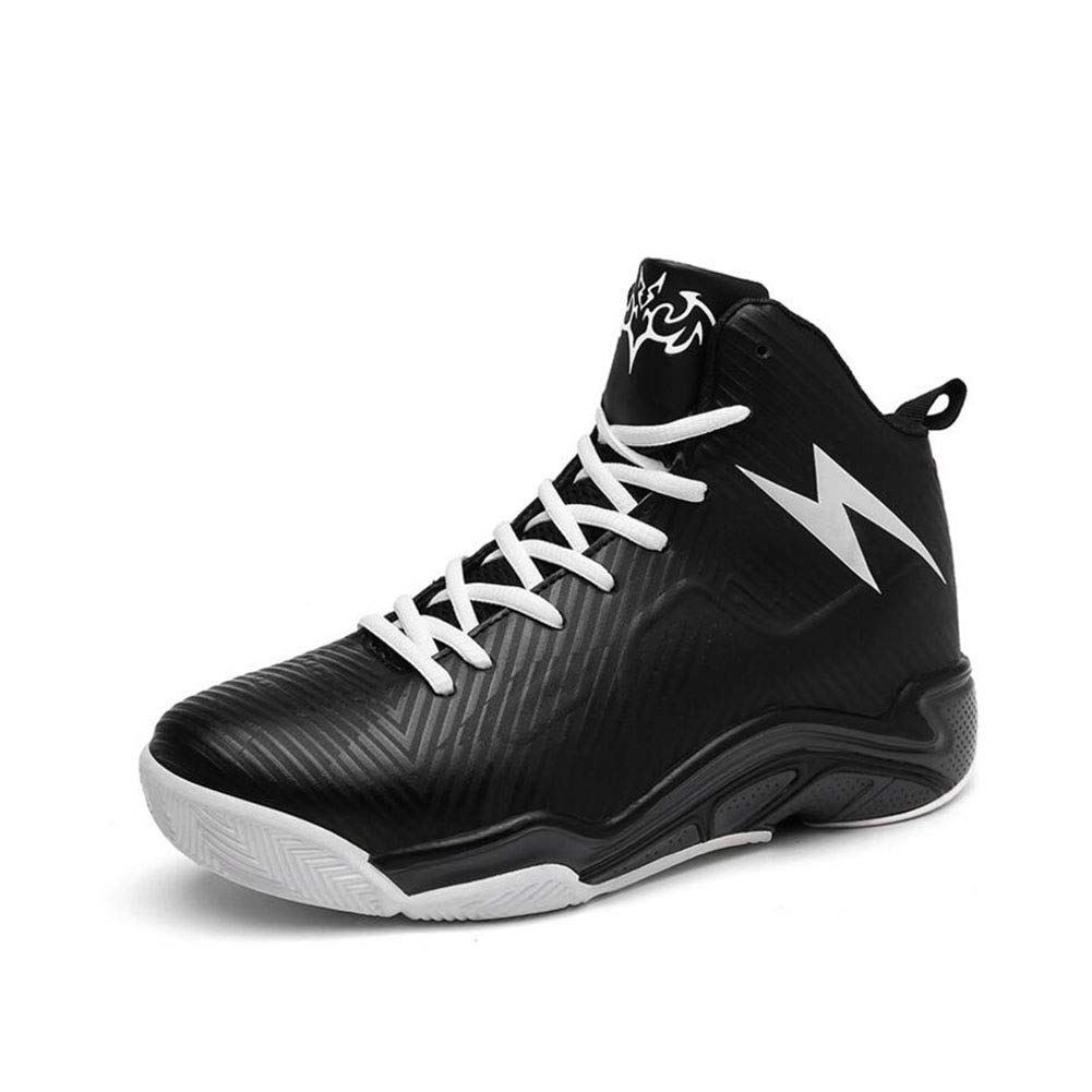 A YAXUAN 2019 Men's Basketball shoes Outdoor Sneakers Basket Homme Lace-Up Ultra Boost Trainers High-top Couple Non-slip Wear-resistant Breathable Boots