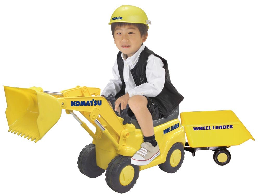 solo cómpralo Passenger Komatsu wheel loader with with with trailer (japan import)  nueva marca