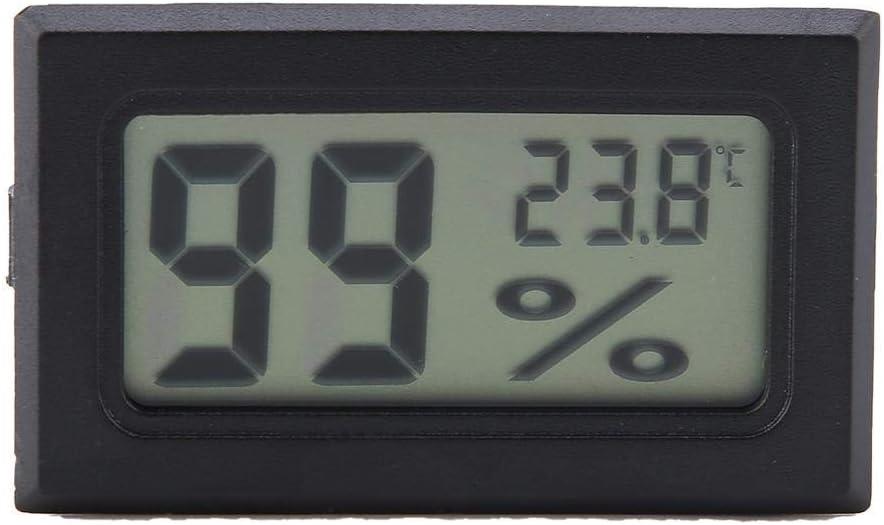 Medidor Digital inalámbrico YS-11 Temperatura Humedad Termómetro Higrómetro para humidores, Invernadero, Jardín, Bodega, Armario