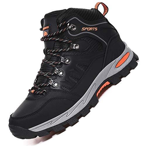 Rokiemen Chaussures de Randonnée Hautes Homme Antidérapantes Extérieure Imperméable Bottes de Marche Trekking Escalade… 1