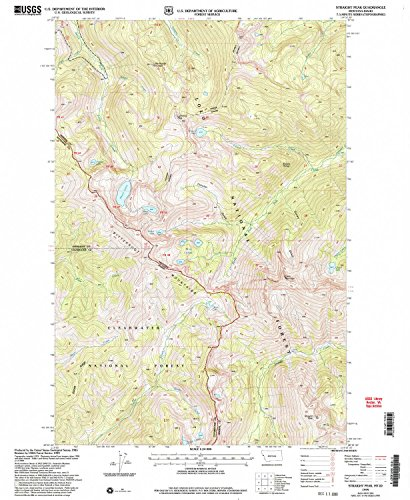 River Road Pearl (Straight Peak MT topo map, 1:24000 scale, 7.5 X 7.5 Minute, Historical, 1999, updated 2004, 26.9 x 22.1 IN - Tyvek)