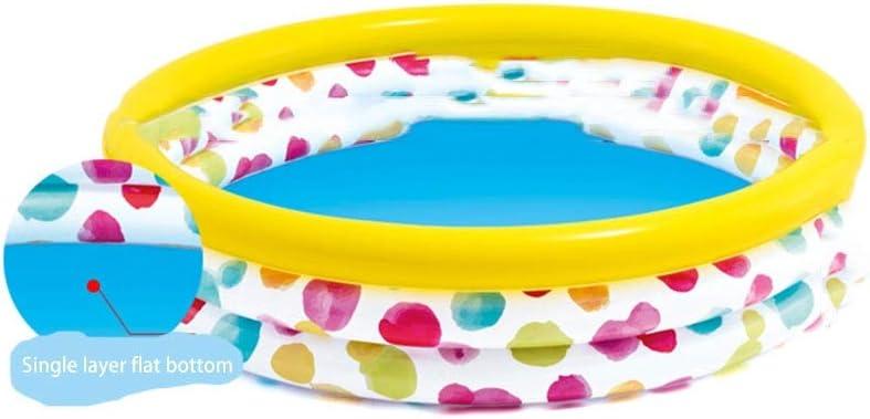 Bebé Infantil Infantil Bola Marina Cerca de la Piscina Bola de Color Interior Ola Bola de la Bola Juguete del bebé 1-2 años de Edad (Tamaño : 147 * 33cm)