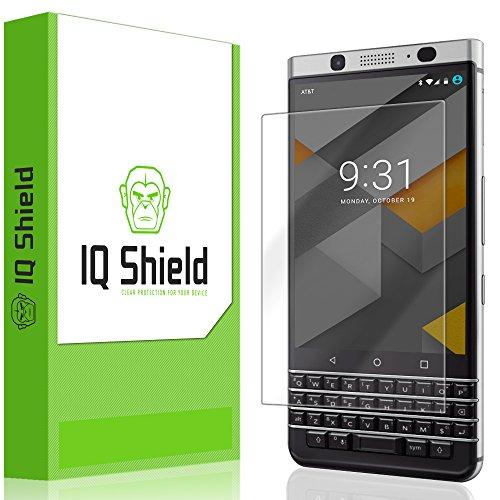 IQ Shield LiQuidSkin Full Coverage Screen Protector for BlackBerry KEYone HD Clear Anti-Bubble Film