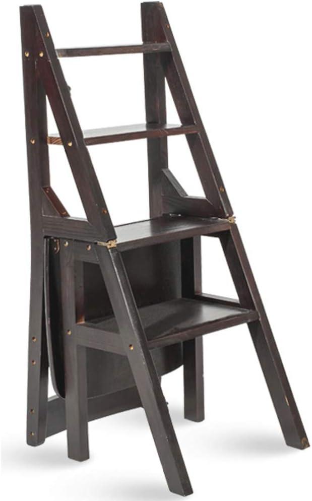 WCS Sgabello Ladder Multifunzione Casa in Legno massello