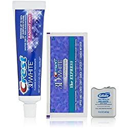Crest 3D White 1 Hour Express Whitestrip Teeth Whitening Strips Sample Kit, ($4.99 credit with purchase on select Crest products)