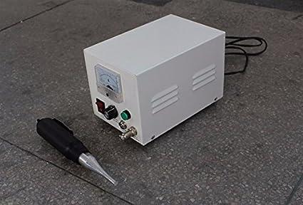 GOWE 300 W ultrasónico plástico Mini Spot soldador ultrasónico Generador armario con cuerno Spot soldadura máquinas