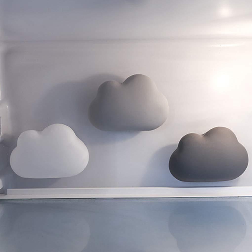 Aiming A Forma di Nuvola Frigorifero Car purificatore dAria Ventosa Profumo Box Frigo attivato Carbone di bamb/ù del Deodorante