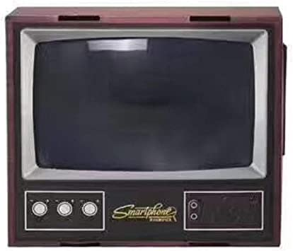 Vintage TV teléfono móvil Smartphone de Pantalla Lupa ...