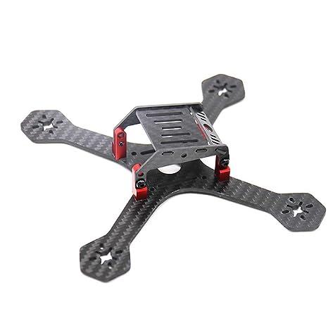 Qnlly 180 mm FPV Racing Frame Drone 3 Pulgadas de Fibra de Carbono ...
