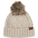 Pendleton Women's Cable Hat, Ivory Mix, One Size