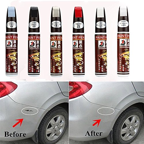 Daozea 13  colori 12  ml New professionale auto riparazione vernice penna impermeabile Fix it Pro Clear Car scratch Remover
