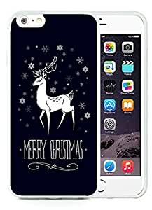 Recommend Design iPhone 6 Plus Case,Merry Christmas White iPhone 6 Plus 5.5 TPU Case 5
