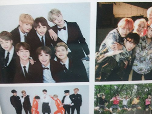 BTS Calendar 2019/2020 BTS Included,BTS Postcard