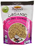 New England Naturals Organic Gluten Free Unsweetened Granola Berry Coconut -- 12 oz - 2 pc