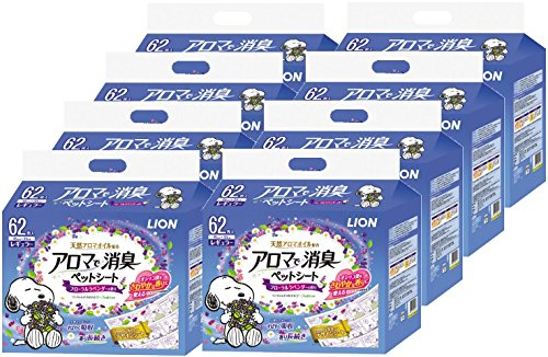 Deodorant pet seat regular 62 sheets x8 pieces in the lion aroma (Case Sales)