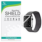 [6-PACK] RinoGear for Apple Watch Screen Protector 42mm...